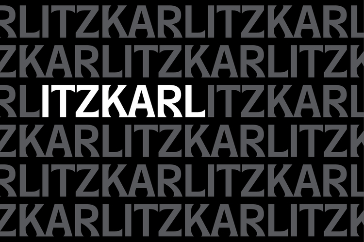 ItzKarl unique display typeface - hankendesign | ello