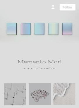 Tumblr Mobile Design | Memento  - obscurial | ello