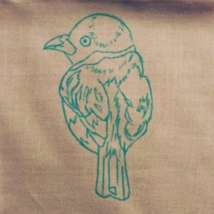 Embroidery Endeavor - bird, embroidery - snockardchanning | ello