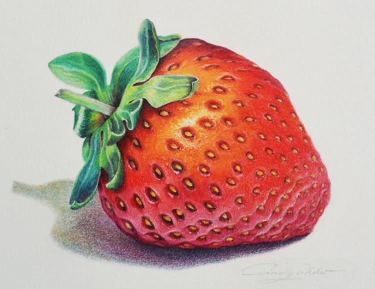 Luscious Strawberry - Derwent C - cindywider | ello