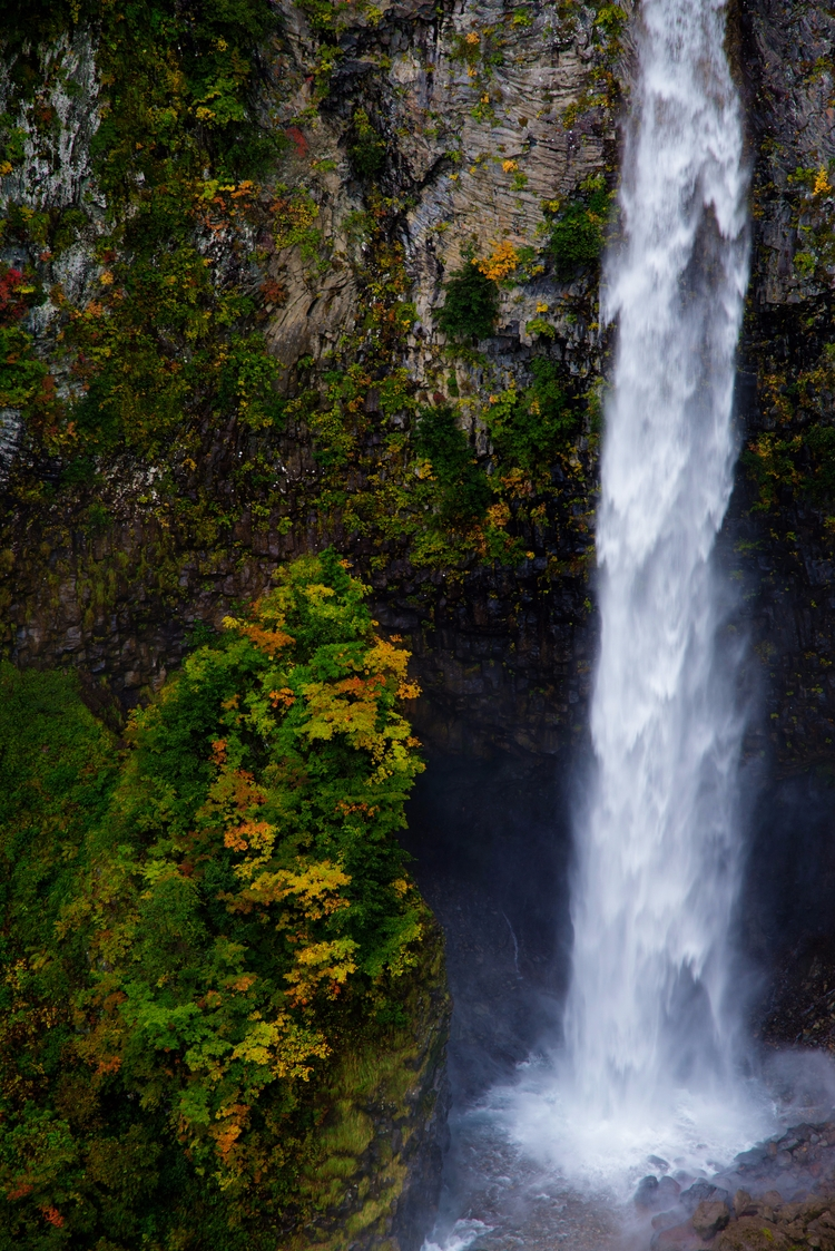 秋:白水の滝 1200m付近 - yottayoct   ello