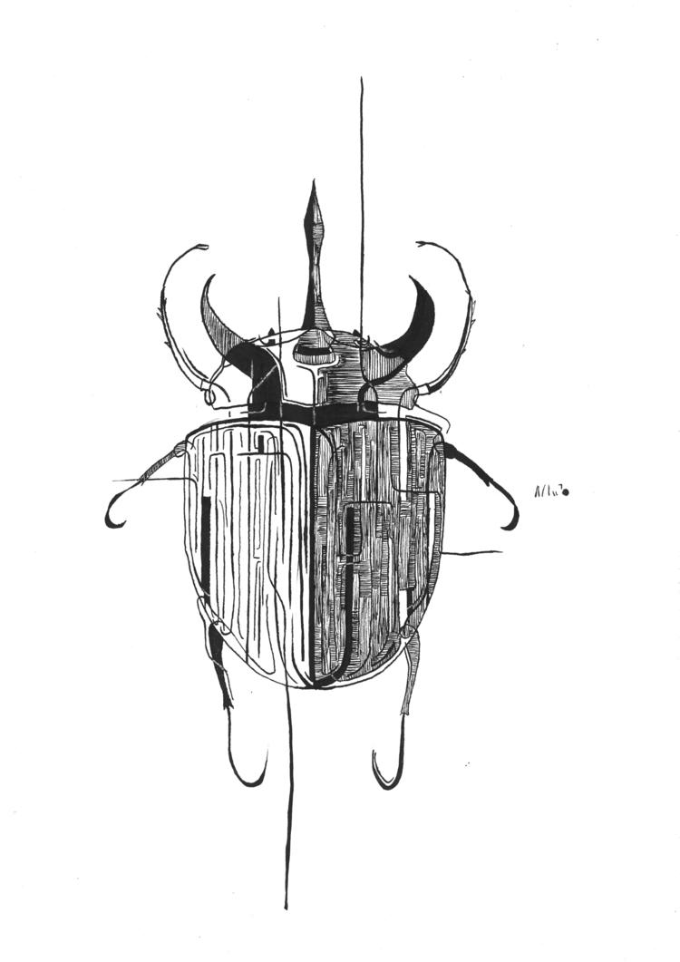 Hybrid dynastinae flying rhino  - amandaobara | ello