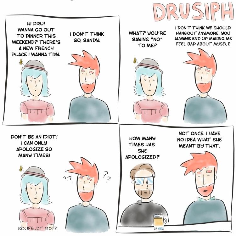 drusiph, comic, comicstrip, cartoon - drusiph | ello