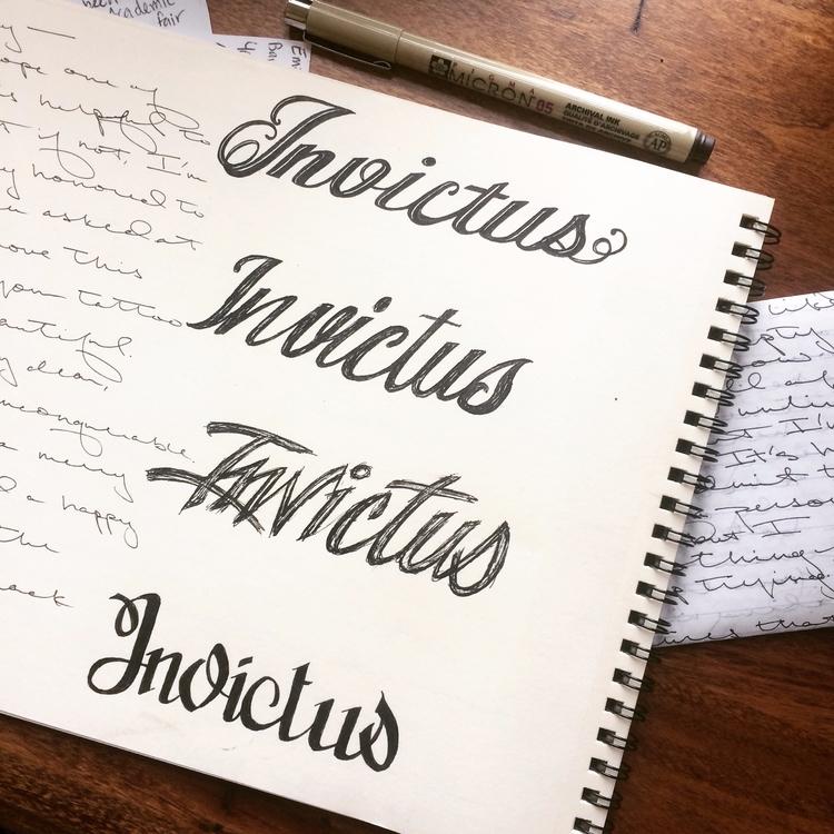 pen, ink, micron, micronpen, typography - betsykevans | ello