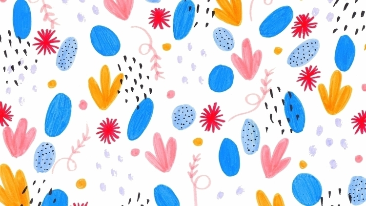 Pattern colorido hice para subi - pirichi | ello