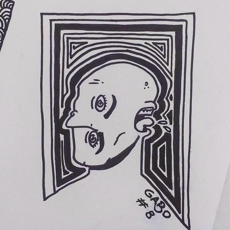 illustration, art, inktober - gabo_jurgensen | ello