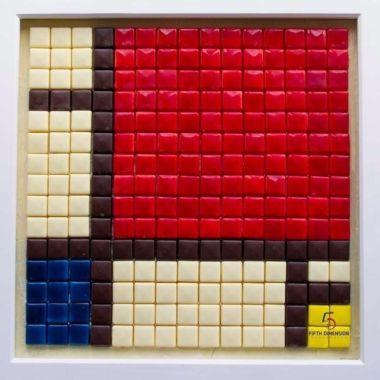 Chocolate Art Piet Composition  - 5dchocolates | ello