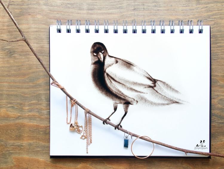 SAND art BOOK Golden Bird baraj - barajolka   ello