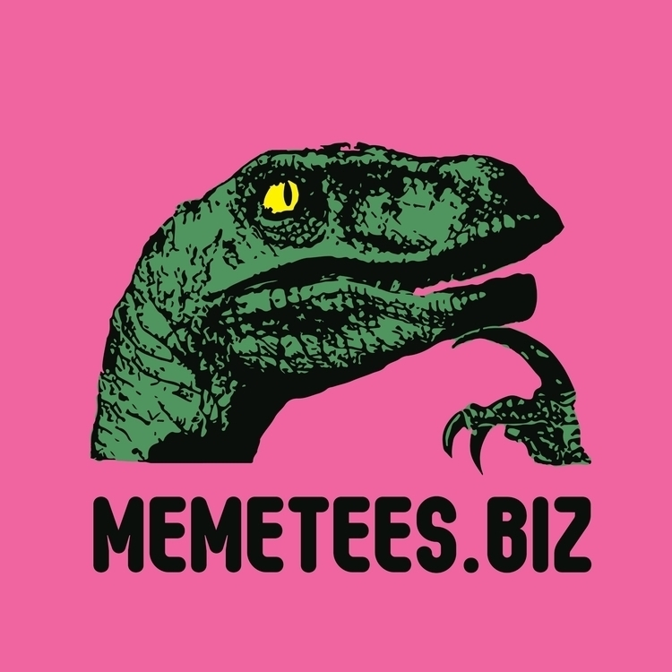 MEME TEES logo designed line - memes - baruchinbar | ello