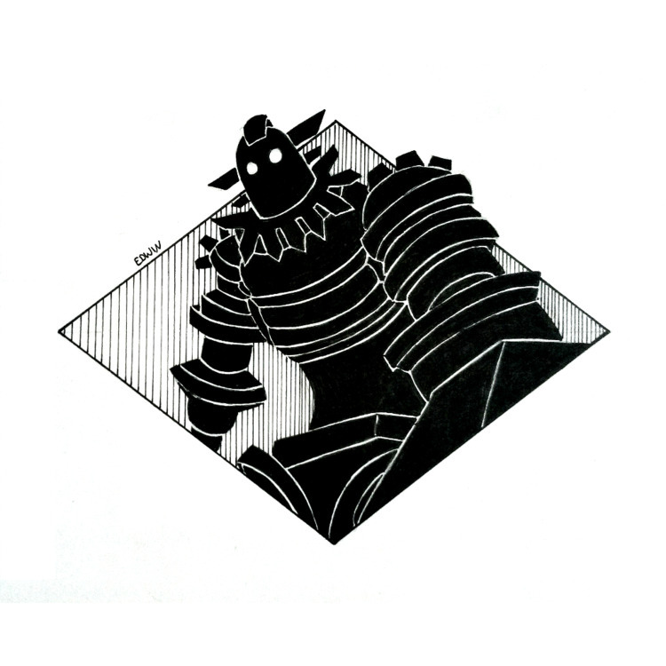 | Inktober - gigantic 10.10.201 - edwln | ello