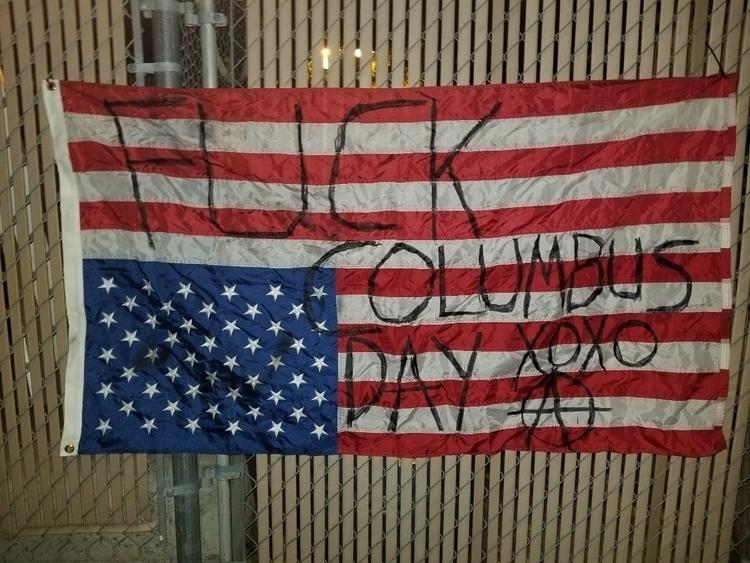 Destroy colonialism - anarcho-vegan | ello