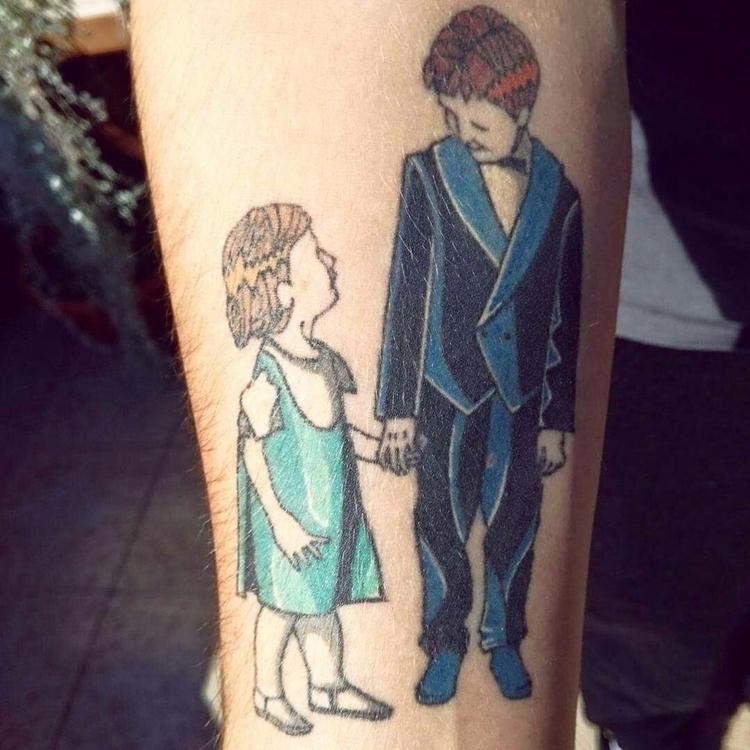 comic tattoo  - comictattoo, inked - ernaart | ello