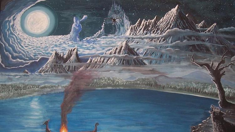 Los Nueve Mundos de la Mitologí - codigooculto | ello