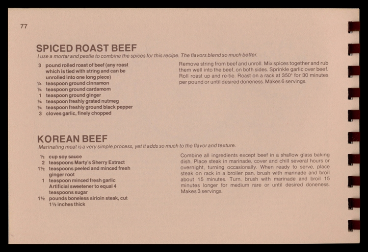 Spiced Roast Beef, Korean Beef  - eudaemonius   ello