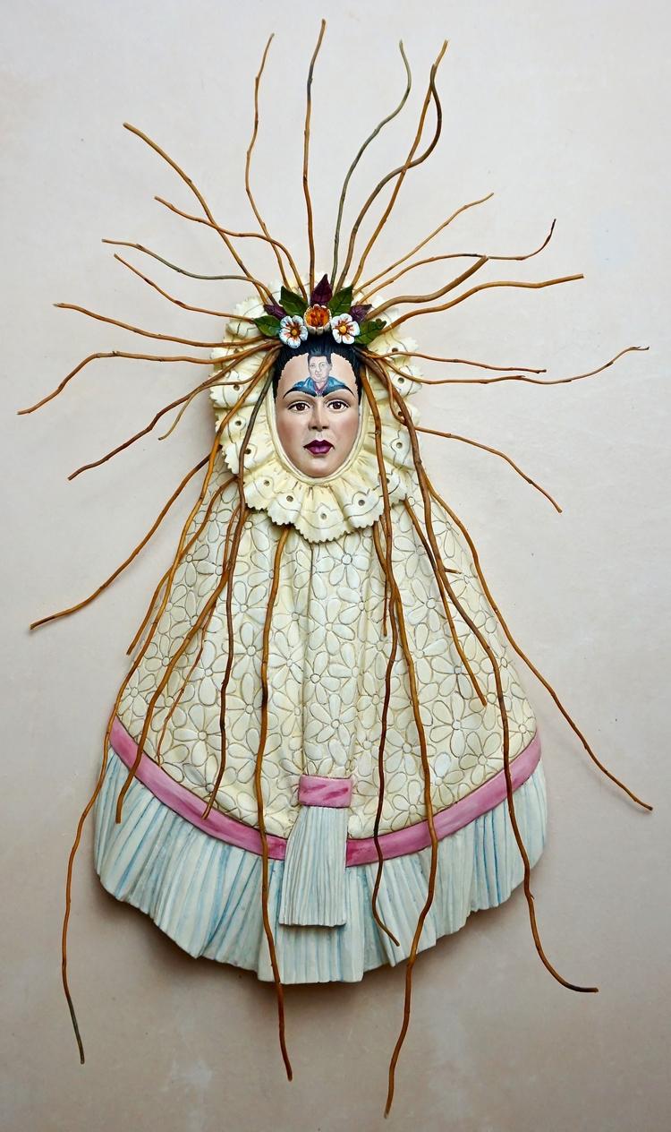 "Frida Kahlo ""Diego Mind"" 28""x18 - artlopez-1086 | ello"