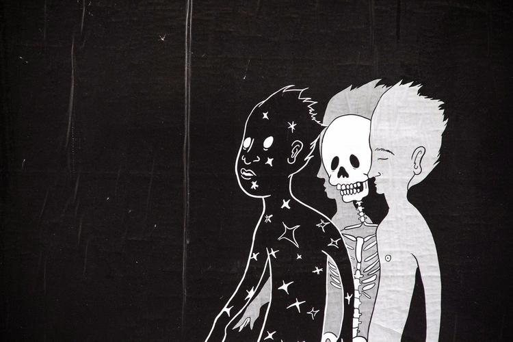 Pissed Dude Deathbed idea story - aldentan | ello