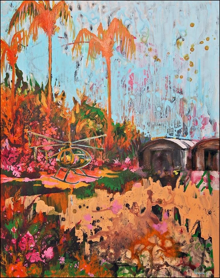 Painting Title: 'Gyroplane' 80  - baswiegmink | ello