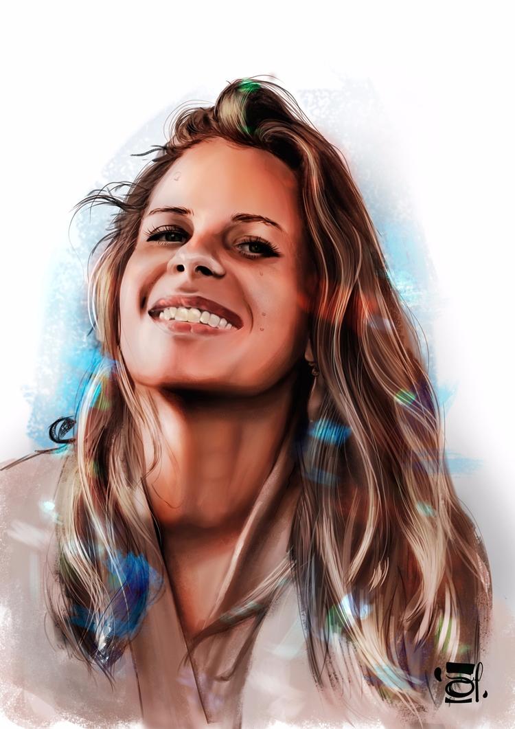 illustration, portrait, portraitillustration - douglasmoreira | ello