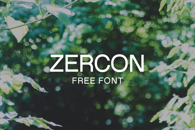 HK Zercon:tm: monoline sans ser - hankendesign | ello