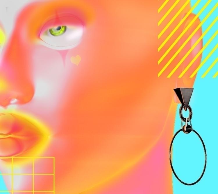 Colour - c4d#3dart#digitalart#contemporary#minimal#realistic#color#design#graphics#render#cgi#vaporwave - bambi_kirschner   ello