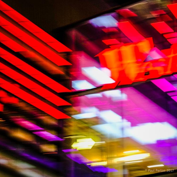 Late night abstract, Stratford  - paulperton | ello