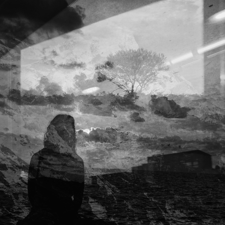 Hiraeth Double Exposure, 2017 - monochrome - pezzido | ello