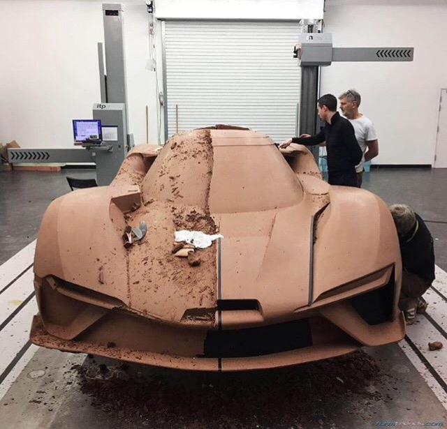- NIO EP9 clay model. Image - designprocess - letsdesigndaily | ello