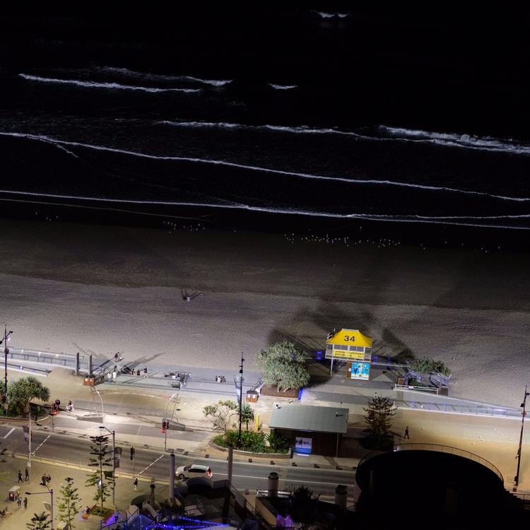 Black - australia, beach, contrast - realstephenwhite | ello