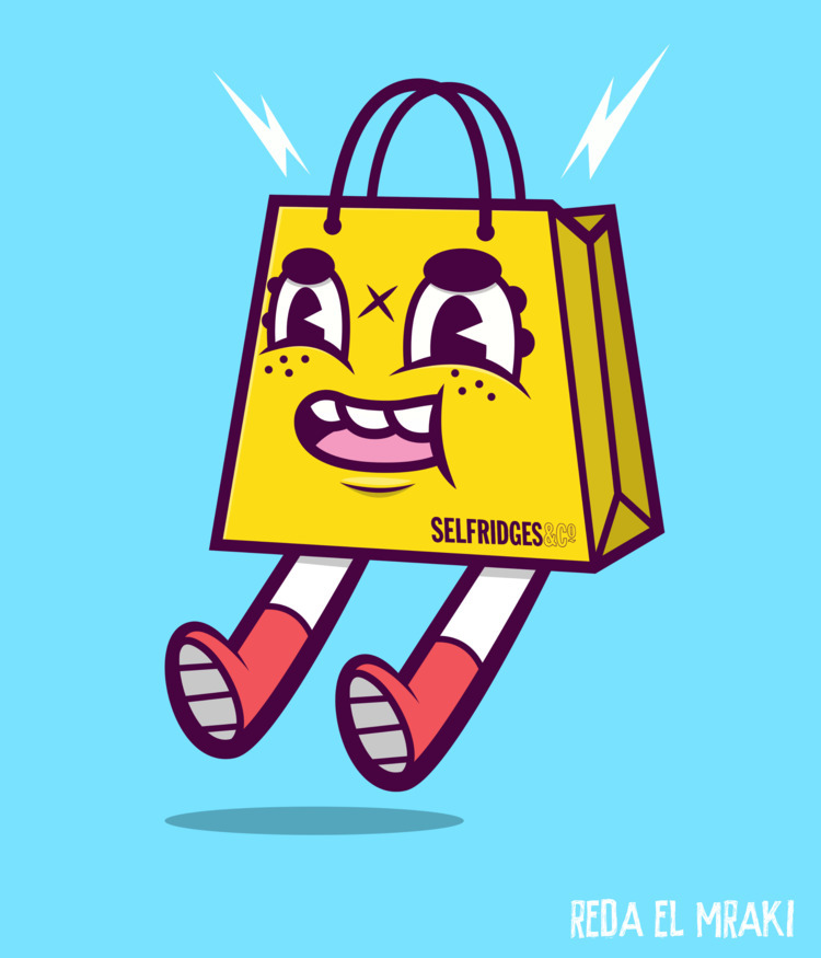 Selly Selfridges bag design - ello - redaelmraki | ello