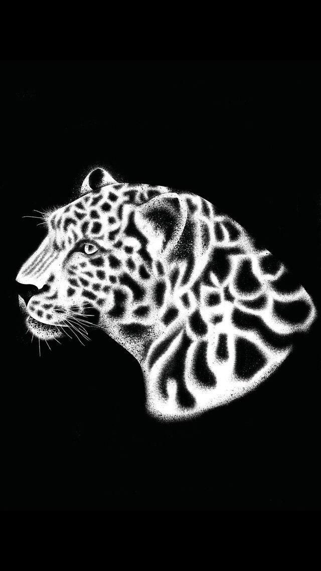 LEOPARD - leopard, leopardart, illustration - tomscampsite | ello