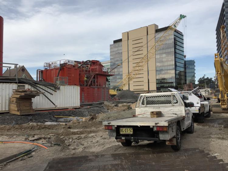 Parramatta Square Construction  - red_wolf | ello