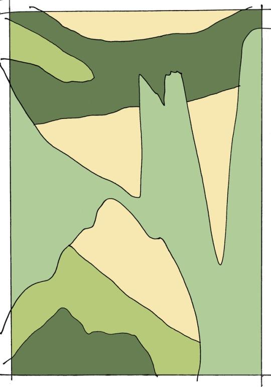 art - illustration, experimental - yvan-hydar   ello