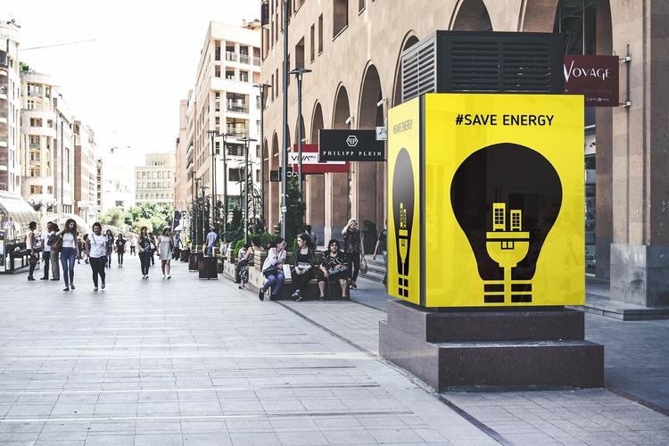 Save energy negative poster des - anneliene_jonck | ello