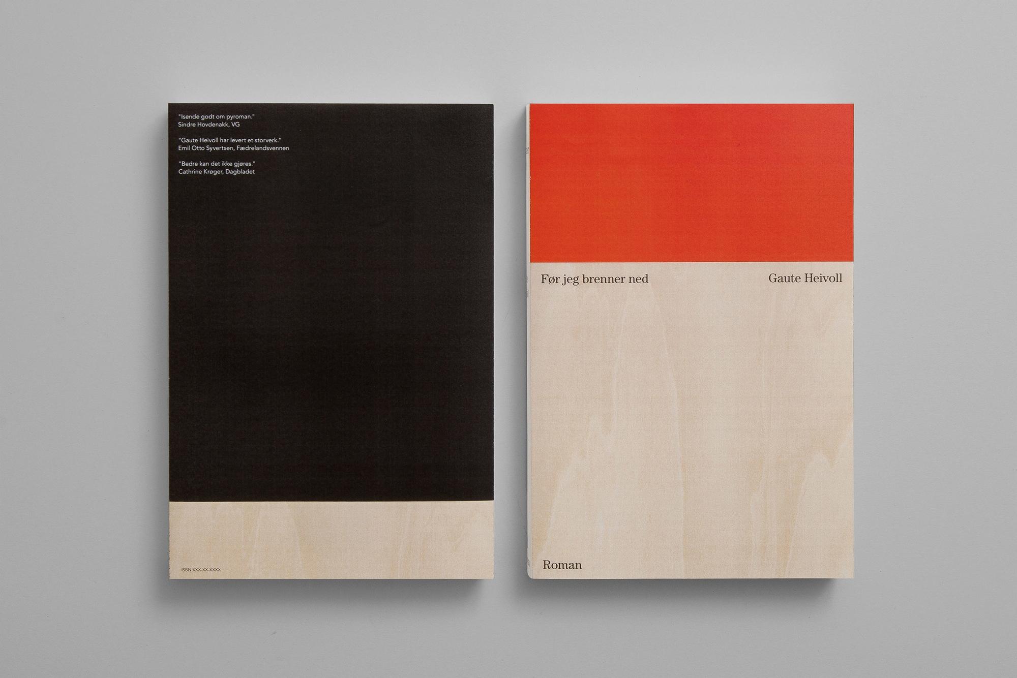Book cover 'Før jeg brenner ned - northeastco | ello