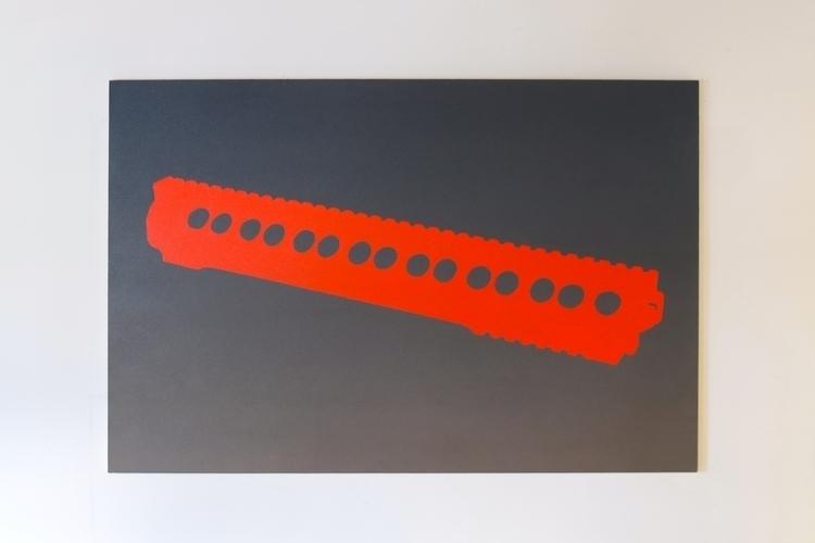 URX, 2014, oil/ canvas 42x62 - art - osiflandia | ello