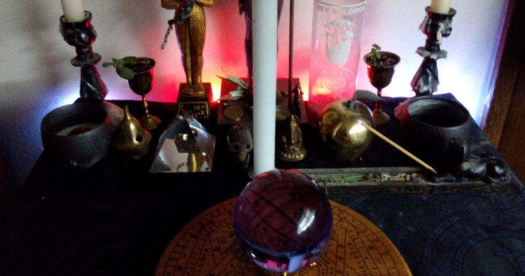 cool call Planetary Smart Altar - arnemancy   ello