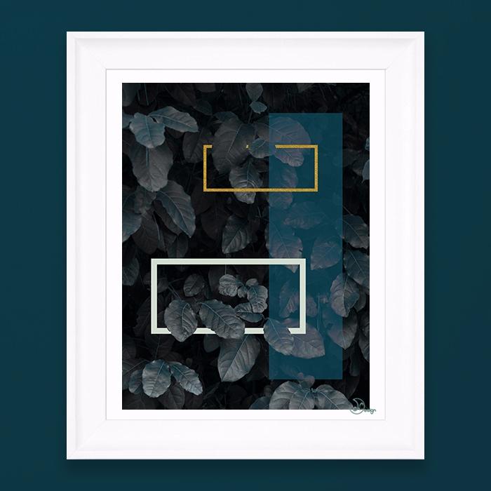 Blue Fall Elegant composition l - designdn | ello