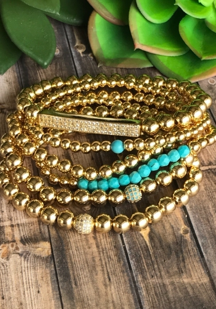 Gold bead obsession! Customize  - ashleynicolebyjulie | ello