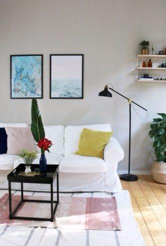 Living Room Makeover Art Prints - 83oranges | ello