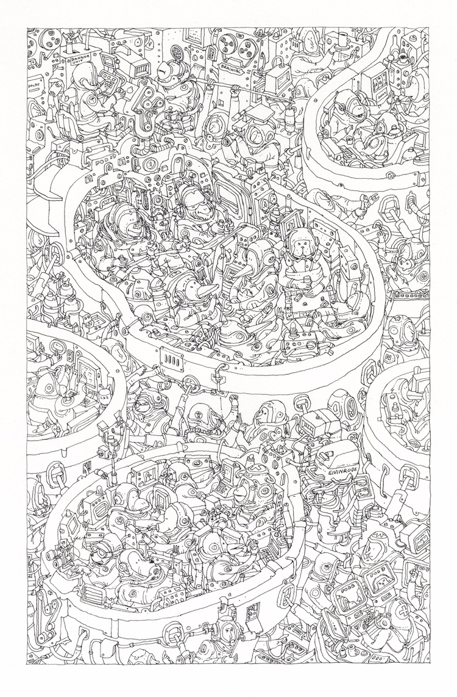 drawn lines paper - mattiasadolfsson | ello