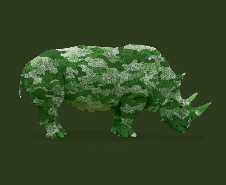 ILLUSTRATION - Rhino Protection - comoyoti   ello