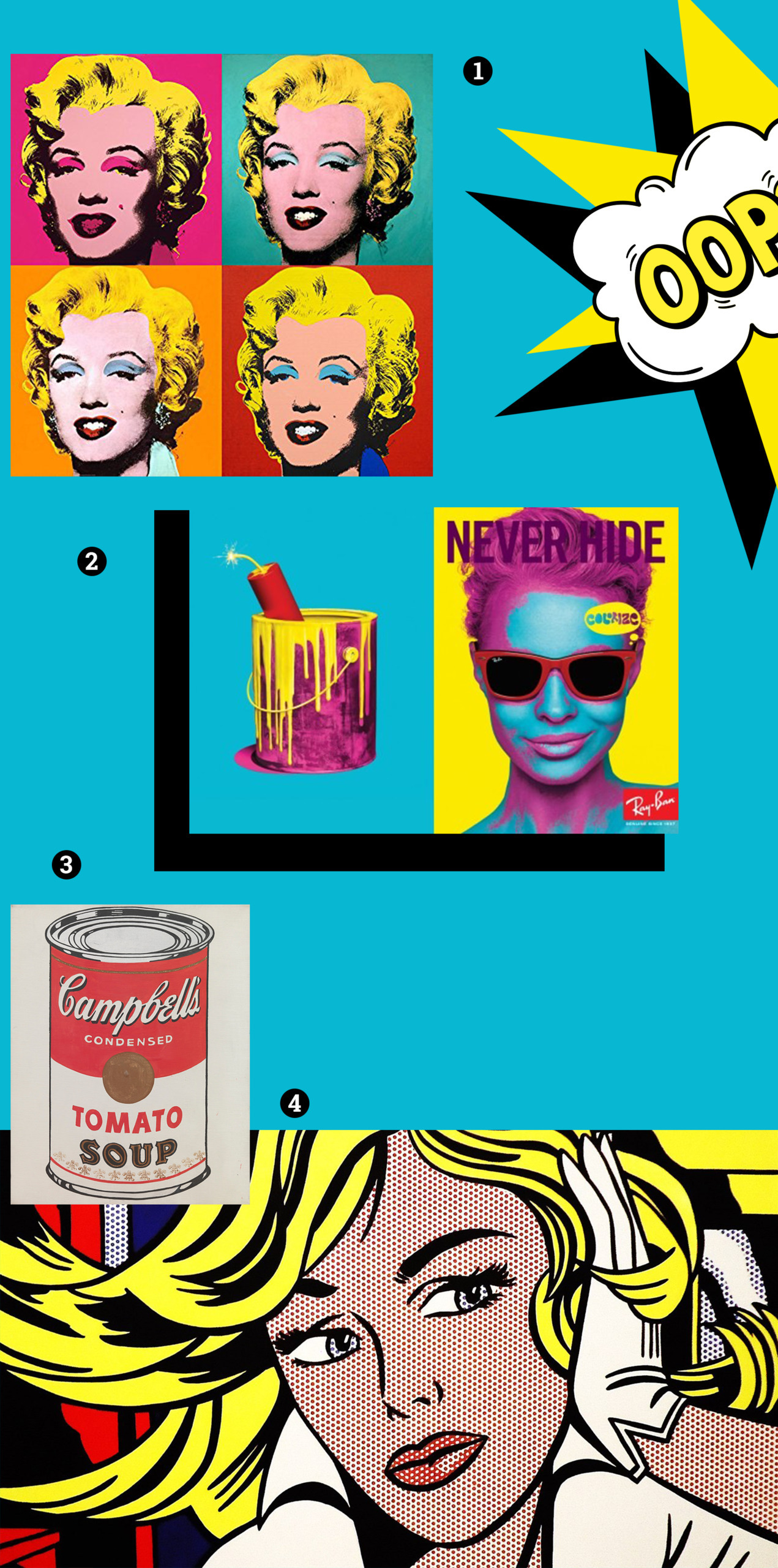 POP-ART [moodboard]