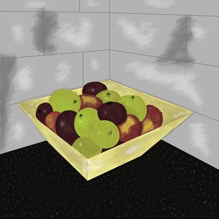 Digital Fruit Bowl - Dylan Burk - dylanburke | ello