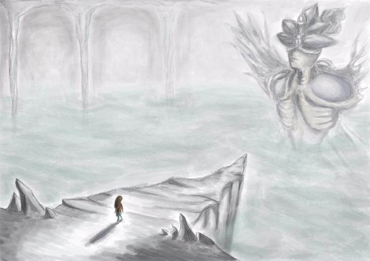Sketching worlds - sketches, art - nikita_r | ello