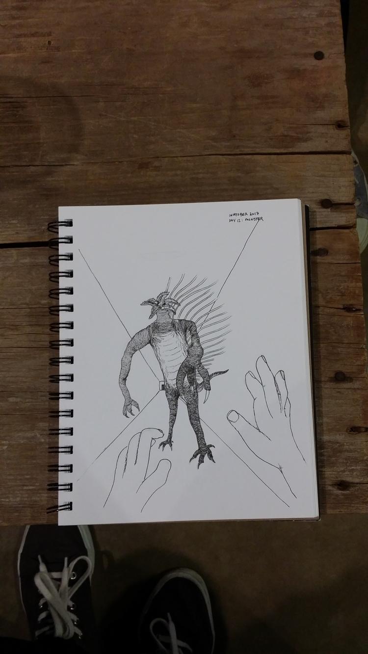 Custom Day 12 - lewisduo, horror - jeremiahlewis | ello