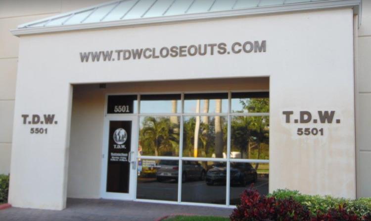 TDW Closeouts - Discount Wareho - tdwcloseouts | ello