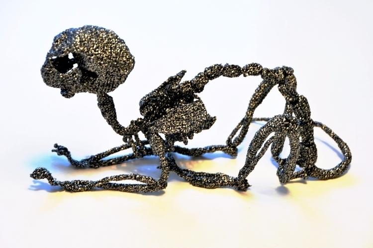 Sparkling cat 2016 - crocheted  - kadriallekand | ello