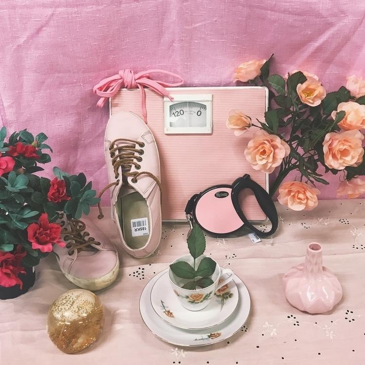 stillife, photography, pink, aesthetic - saskiacort | ello