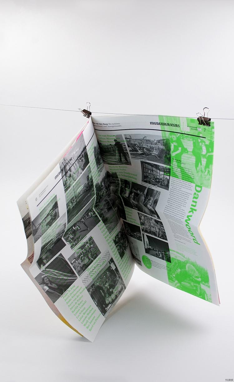 BelcrumBeach ~ Krant Groen - Print - yurrstudio | ello