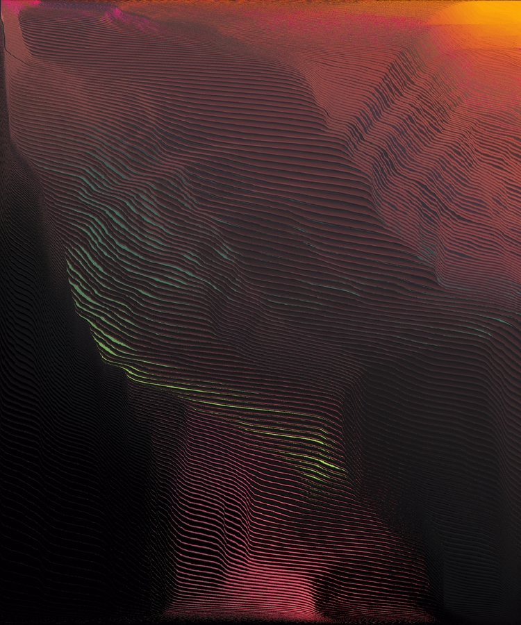 himalayev, digital, glitch, art - himalayev | ello